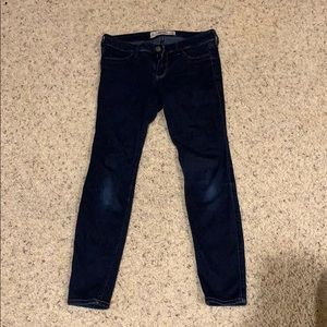 Navy Hollister jean leggings
